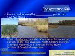 ecosystems 600