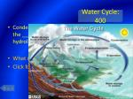 water cycle 400