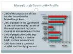 musselburgh community profile
