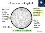 information is physical