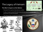 the legacy of vietnam1