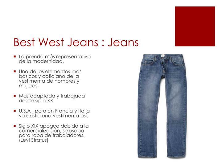 Best west jeans jeans