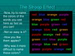 the stroop effect1