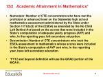 1s2 academic attainment in mathematics