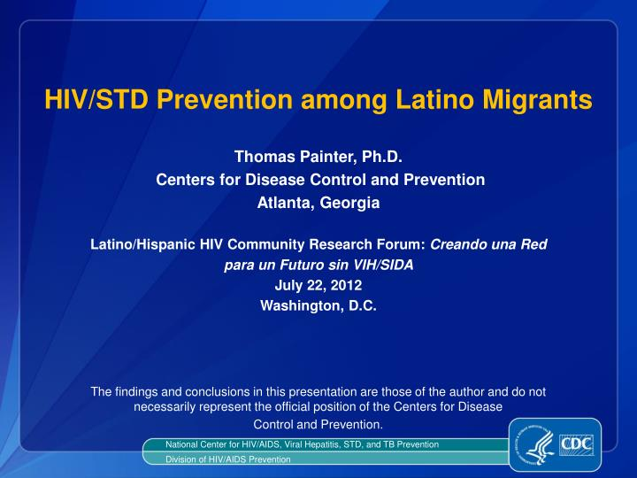 hiv std prevention among latino migrants n.