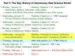 part 1 the sky history of astronomy how science works