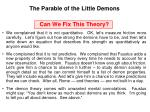 the parable of the little demons5