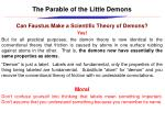 the parable of the little demons7