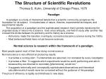 the structure of scientific revolutions thomas s kuhn university of chicago press 1970