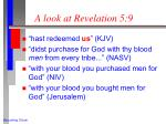 a look at revelation 5 9