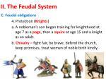 ii the feudal system3