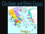 city states and ethnic groups