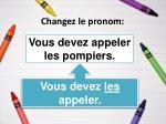 changez le pronom17