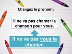 changez le pronom19