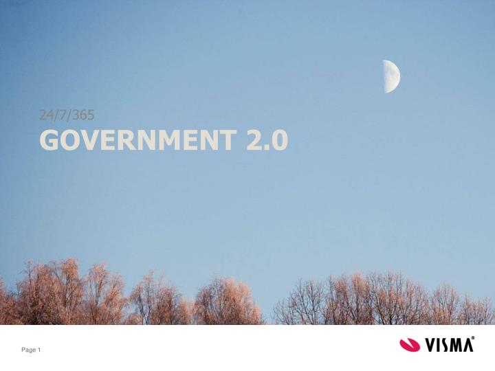 government 2 0 n.