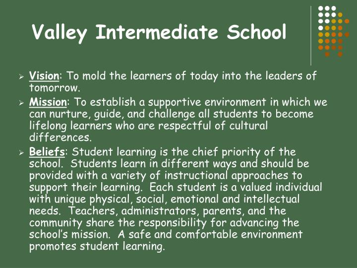 valley intermediate school n.