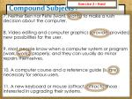 compound subjects6