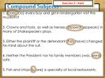 compound subjects9
