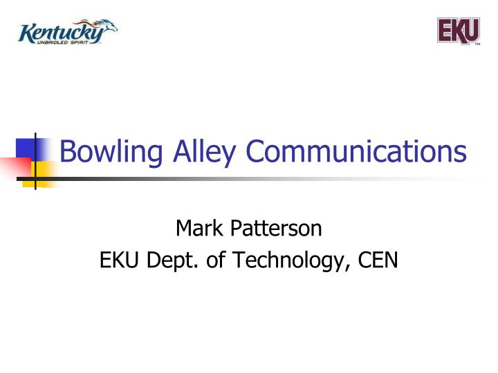 bowling alley communications n.