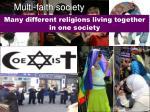multi faith society