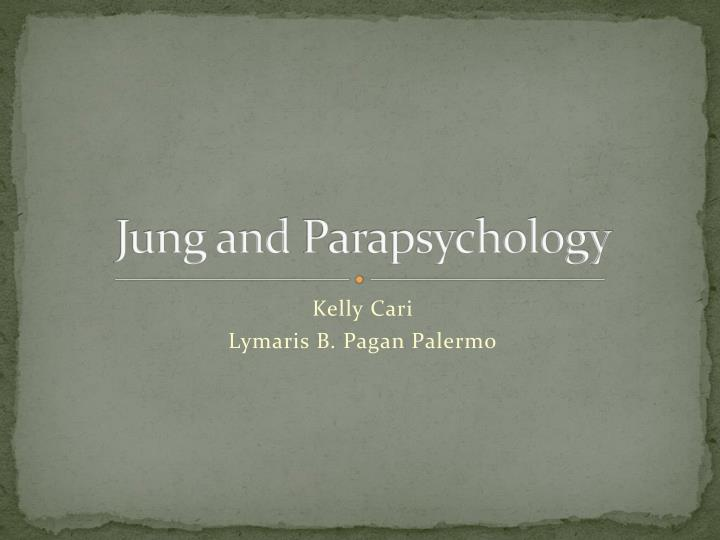 jung and parapsychology n.