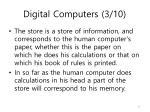 digital computers 3 10