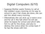 digital computers 6 10