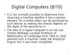 digital computers 8 10