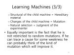 learning machines 3 3