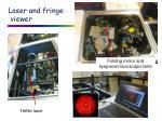laser and fringe viewer