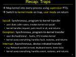 recap traps