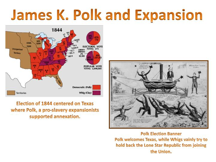 james k polk and the expansionist impulse Get this from a library james k polk and the expansionist impulse [sam w haynes] -- few presidents have had as dramatic an effect on the geography and identity of the united states as james k polk.