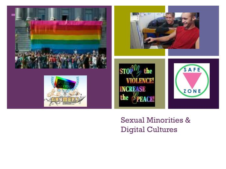 sexual minorities digital cultures n.