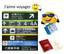 j aime voyager