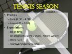 tennis season1