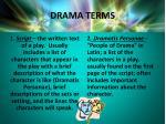 drama terms1