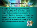 drama terms4