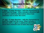 drama terms6
