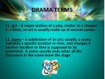 drama terms7