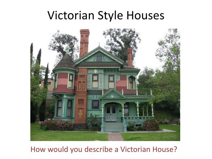 victorian style houses n.