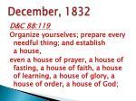 december 1832