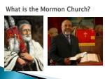 what is the mormon church