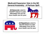 all republicans voted to block federal under affordable care act for more health care for poor