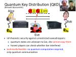 quantum key distribution qkd