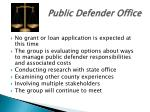 public defender office