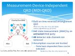 measurement device independent qkd mdi qkd