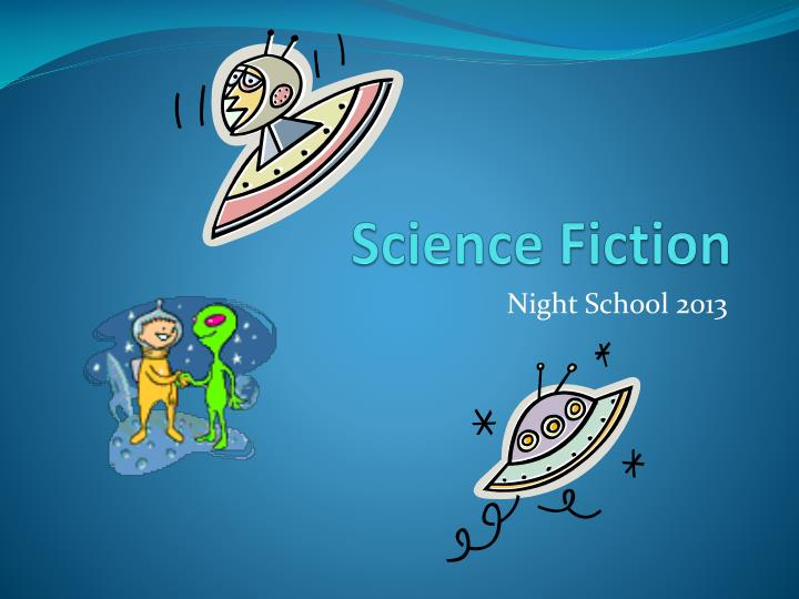 science fiction n.