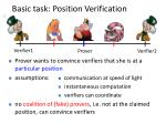 basic task position verification1