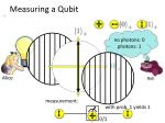 measuring a qubit