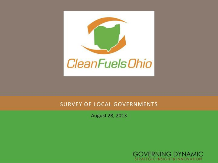 survey of local governments n.